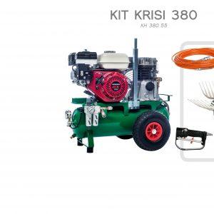 Motocompressore Motore Honda e abbacchiatore Kit Krisi 380 Sbaraglia 1 operatore