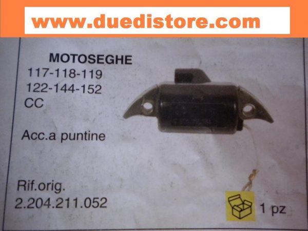 bobina accensione husquarna 65-77-160-163 180-380   motosega