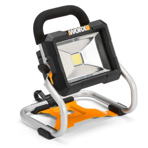 Faro a led a batteria Worx WX026.9, 20 V – 2,0 Ah | Duedi Store