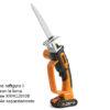 Worx-seghetto-WG894E-gattuccio-a-batteria-potatura-legno-verde-rami-2