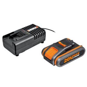 Set Worx batteria e caricabatteria WA3601 | Accessori Worx | Duedi Store