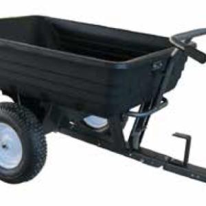 Carrello trainato a due ruote PRO per trattorini | AMA | Duedi Store