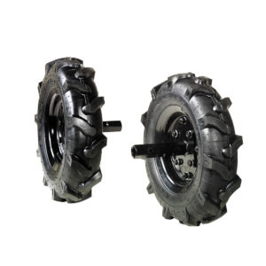 Coppia di ruote gommate per Motozappa 218 | BERTOLINI | Duedi Store