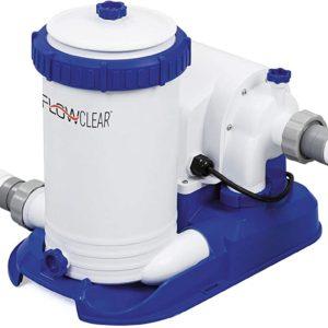 Pompa filtro a cartuccia tipo IV-B, 9463 L/h Flow Clear per piscina | BESTWAY | Duedi Store