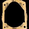 Guarnizione flangia cambio per motozappe Pasbo | Ricambi Pasbo | Duedistore