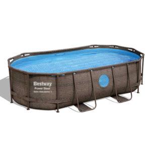Piscina ovale Swim Vista Ovale 427x250x100 cm | BESTWAY | Duedistore