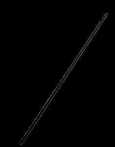 Bacchetta di carbonio Ø 5mm per l'abbacchiatore Karbonium FR | Ricambi Zanon | Duedistore