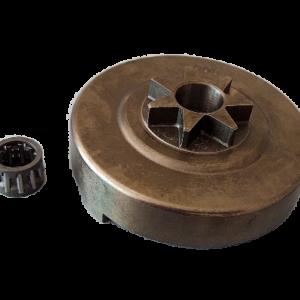 Pignone campana frizione per motosega Alpina 700-750-800 | Ricambi Alpina | Duedistore