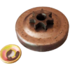 Pignone con anello campana frizione Stihl 024, 026 | Ricambi universali | Duedistore