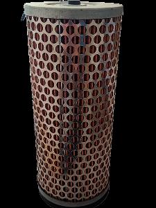 Cartuccia filtro aria per Goldoni - Slanzi Dva 1300 - 1400 - 1500 | Ricambi Goldoni | Duedistore