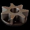 Pignone catena 3/8 per potatore 2.9 SR | Ricambi Active | Duedistore