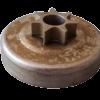 Pignone campana frizione per motosega Alpina P440 - P480   Ricambi Alpina   Duedistore